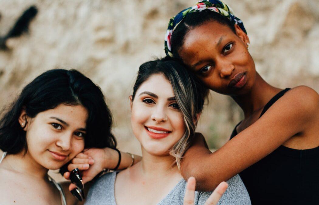 three-diverse -women-looking-at-camera